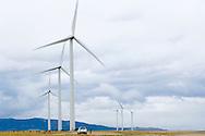 Judith Gap Wind Farm a private enterprize business south of Judith Gap, Montana