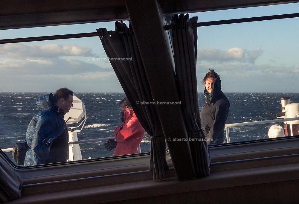 Patagonia, cruising with Ventus Australis.