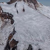 Iliamna Volcano, located in Lake Clark National Park, Alaska