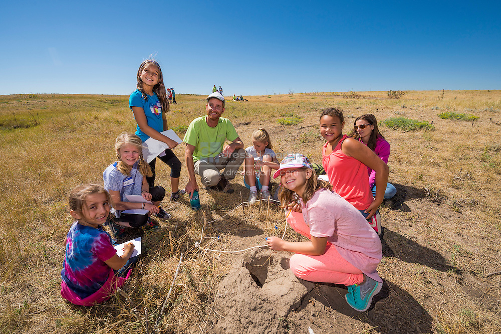 plains conservation center school group