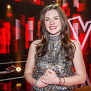 NLD/Hilversum/20160122 - 6de live uitzending The Voice of Holland 2016, Maan