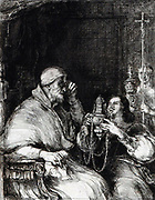Benvenuto Cellini Offering His Censer For The Approval Of Pope Paul III. Benvenuto Cellini (3 November 1500 – 13 February 1571) was an Italian goldsmith, sculptor, painter