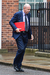 Downing Street, London, August 2nd 2016. Work and Pensions Secretary Damian Green arrives at Downing Street for the Economic and Industrial Strategy Committee meeting. The committee is comprised of eleven cabinet ministers and has been set up by Prime Minister Theresa May to ensure that Britain is in the best position to successfully leave the European Union.