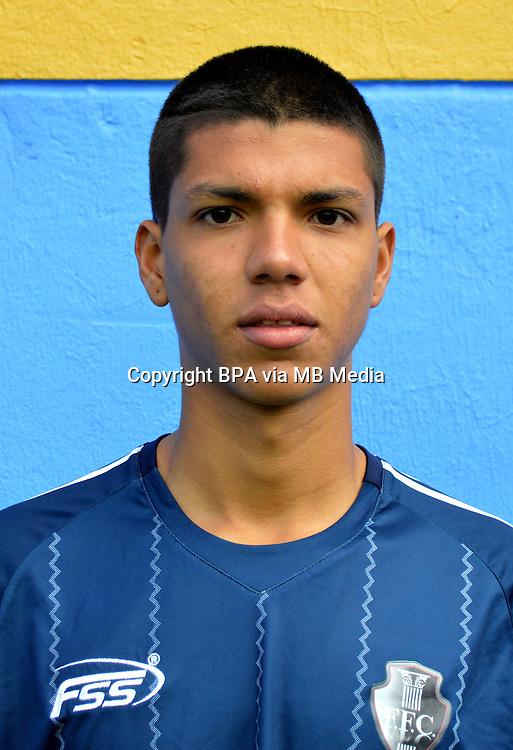 Colombia League - Postobom Liga 2014-2015 -<br /> Fortaleza Futbol Club  - Colombia / <br /> Stiven Guerrero