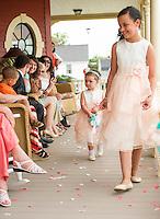 Jen and Tony's Wedding Day.  Ceremony.  York, Maine.  ©2015 Karen Bobotas Photographer