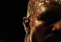 LAS VEGAS - JUNE 28:  A close-up of the injury to the right ear of Evander Holyfield of the USA after Mike Tyson Of the USA bit off a piece of it in the third round of their World Heavweight title fight on June 28, 1997 at the MGM Grand Garden in Las Vegas, Nevada, USA. Mike Tyson of the USA was disqualified by referee Mills Lane. (Photo by Jed Jacobsohn/Getty Images)