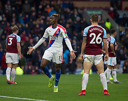 Wilfried Zaha of Crystal Palace celebrates scoring his sides third goal - Mandatory by-line: Jack Phillips/JMP - 02/03/2019 - FOOTBALL - Turf Moor - Burnley, England - Burnley v Crystal Palace - English Premier League