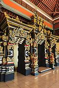 Hindu shrine at Tanah Lot Temple, Bali, Indonesia