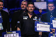 Gary Anderson during the walk-on during the World Darts Championships 2018 at Alexandra Palace, London, United Kingdom on 30 December 2018.