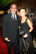 l to r: Bruce Gordon and Tawana Tibbs at The Alvin Ailey Opening Night Gala and Celebration of the 20th Anniversary of Judith Jamison as Artistic Director held at The New York City Center on Decemeber 2, 2009 in New York City