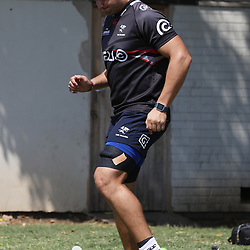 Etienne Oosthuizen  during The Cell C Sharks training session at Growthpoint Kings Park in Durban, South Africa. 14th March 2017(Photo by Steve Haag)<br /> <br /> images for social media must have consent from Steve Haag