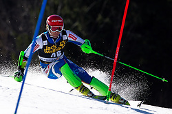 KUERNER Miha of Slovenia during the 1st Run of Men's Slalom - Pokal Vitranc 2014 of FIS Alpine Ski World Cup 2013/2014, on March 9, 2014 in Vitranc, Kranjska Gora, Slovenia. Photo by Matic Klansek Velej / Sportida