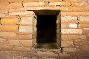 Balcony House, window, Mesa Verde