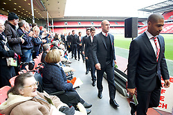 15.04.2013, Anfield Road, Liverpool, ENG, PL, Liverpool FC, 24. Jahrestag der Hillsborough Katastrophe, im Bild Liverpool's goalkeeper Jose Reina during the 24th Anniversary Hillsborough Service at Anfield, Liverpool, United Kingdom on 2013/04/15. EXPA Pictures © 2013, PhotoCredit: EXPA/ Propagandaphoto/ David Rawcliffe..***** ATTENTION - OUT OF ENG, GBR, UK *****
