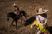 Tradional Mexican Charros. City of Dolores Hildalgo, Mexico.