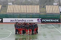 Auckland-Hockey, Champions Trophy, Rain postpones play but Spain Celebrates