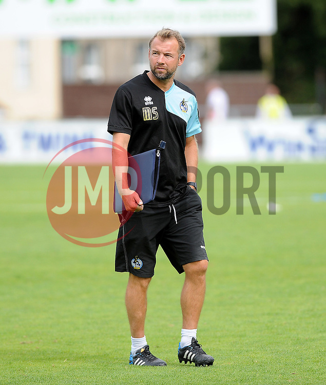 Bristol Rovers assistant manager,Marcus Stewart - Photo mandatory by-line: Neil Brookman/JMP - Mobile: 07966 386802 - 18/07/2015 - SPORT - Football - Bristol - Memorial Stadium - Pre-Season Friendly