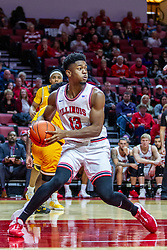 NORMAL, IL - February 15: Rey Idowu during a college basketball game between the ISU Redbirds and the Valparaiso Crusaders on February 15 2020 at Redbird Arena in Normal, IL. (Photo by Alan Look)