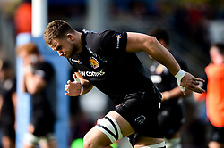 Jonny Hill of Exeter Chiefs prior to kick off  - Mandatory by-line: Ryan Hiscott/JMP - 19/10/2019 - RUGBY - Sandy Park - Exeter, England - Exeter Chiefs v Harlequins - Gallagher Premiership Rugby