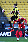 Phoenix player Louis Fenton during their Hyundai A League match. Wellington Phoenix v Melbourne City FC. Westpac Stadium, Wellington, New Zealand. Saturday 26 January 2019. ©Copyright Photo: Chris Symes / www.photosport.nz