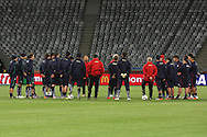 CAPE TOWN, SOUTH AFRICA - 13 JUNE 2010, Italian squad during Italy's training session held at the Cape Town Stadium. Italy play Paraguay in Match 11 of the 2010 FIFA World Cup on Monday 14 June 2010. Photo by: Shaun Roy/Sportzpics