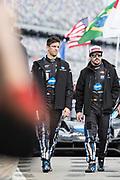 January 24-27, 2019. IMSA Weathertech Series ROLEX Daytona 24. #10 Konica Minolta Cadillac DPi-V.R. Cadillac DPi, DPi: Jordan Taylor, Fernando Alonso