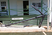 Anchor from the Bounty, Pitcairn island<br />
