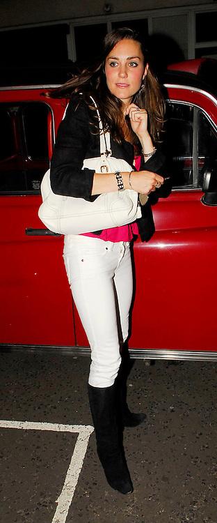 A Drunk Looking Kate Middleton Leaving Boujis Night Club Alone At