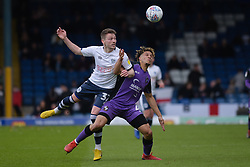 Dougie Nyaupembe battles with Luke Joyce of Port Vale - Mandatory by-line: JMP - 04/05/2019 - FOOTBALL - Gigg Lane - Bury, England - Bury v Port Vale - Sky Bet League Two