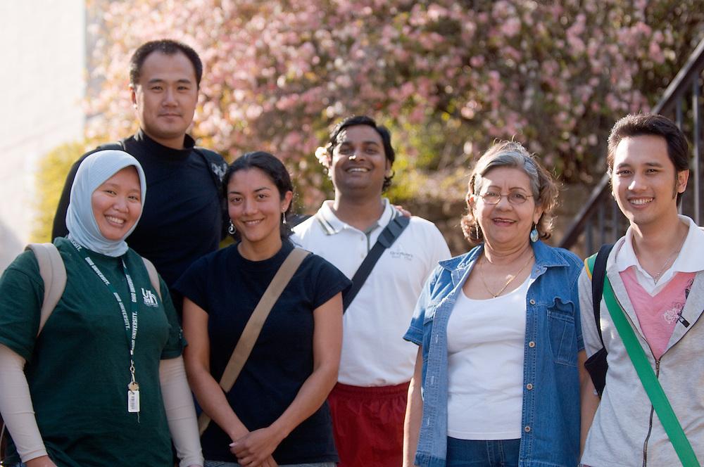 18645Spring Campus:..Nelly Martin, Yue Ma, Maria Elena, Pravesh Kumar, Nora Obregon, Ball Woranon