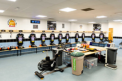 The Exeter Chiefs changing room prior to kick off  - Mandatory by-line: Ryan Hiscott/JMP - 19/10/2019 - RUGBY - Sandy Park - Exeter, England - Exeter Chiefs v Harlequins - Gallagher Premiership Rugby