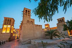 Original historic Al Fahidi district in Dubai, United Arab Emirates