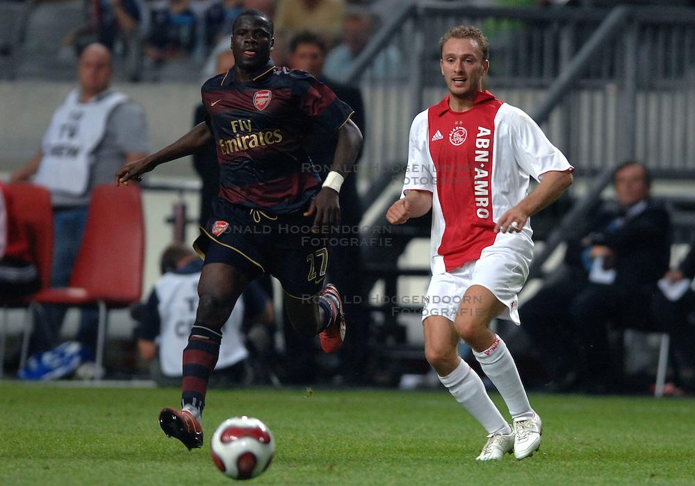 04-08-2007 VOETBAL: LG AMSTERDAM TOURNAMENT: AJAX - ARSENAL: AMSTERDAM<br /> Ajax verliest met 1-0 van Arsenal / Dennis Rommedahl<br /> &copy;2007-WWW.FOTOHOOGENDOORN.NL