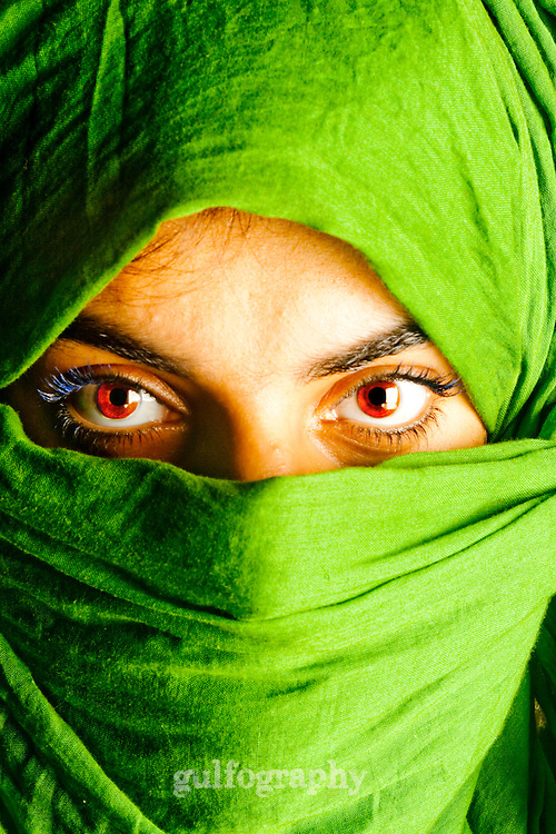 """Power Eyes"" by Amina Taher<br />