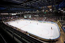 View on the hall at IIHF In-Line Hockey World Championships 2011 Top Division Gold medal game between National teams of Czech republic and USA on June 25, 2011, in Pardubice, Czech Republic. (Photo by Matic Klansek Velej / Sportida)