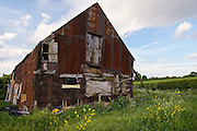 Derelict Barn, Worcestershire, United Kingdom