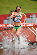 Rosie Clarke (GBR) during the women's 3000m steeplechase during the Birmingham Grand Prix, Sunday, Aug 18, 2019, in Birmingham, United Kingdom. (Steve Flynn/Image of Sport via AP)