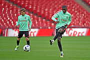 William Carvalho during the Portugal training session at Wembley Stadium, London, England on 1 June 2016. Photo by Jon Bromley.