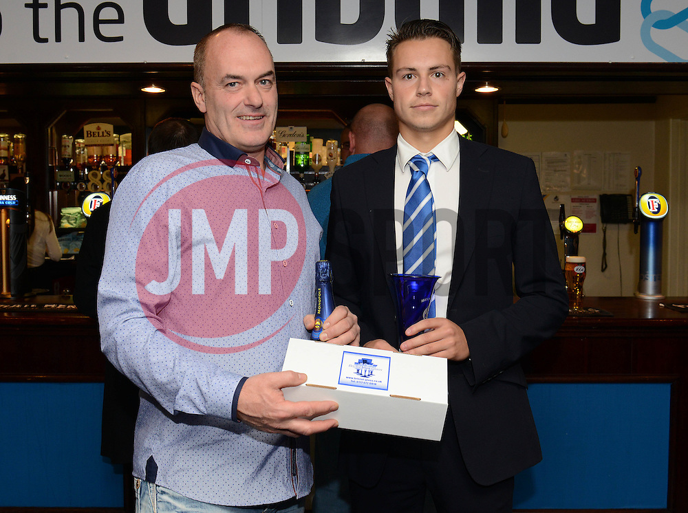 Man of the match presentation - Mandatory byline: Dougie Allward/JMP - 07966 386802 - 24/10/2015 - FOOTBALL - Memorial Stadium - Bristol, England - Bristol Rovers v Newport County AFC - Sky Bet League Two