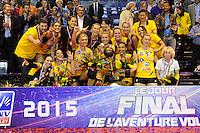 Victoire Cannes  - 09.05.2015 - Cannes / Le Cannet - Finale Ligue A Feminine<br />Photo : Nolwenn Le Gouic / Icon Sport