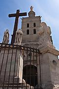 Cathédrale Notre-Dame des Doms d'Avignon in Avignon, France