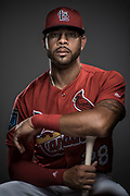 MLB Baseball: Portrait of Saint Louis Cardinals Tommy Pham<br /> Portrait of Saint Louis Cardinals Tommy Pham<br /> Rodger Dean Stadium/Jupiter, FL, USA<br /> 3/24/2018<br /> X161821 TK1<br /> Credit: Josh Ritchie