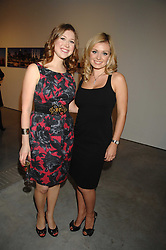 Left to right, singers HAYLEY WESTENRA and KATHERINE JENKINS at the Montblanc de la Culture Arts Patronage Award 2008 presented to Louise Blouin MacBain at the Louise Blouin MacBain Institute, 3 Olaf Street, London W11 on 16th April 2008.<br />