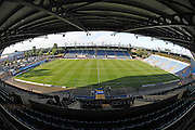 A general view of the Kassam Stadium before the EFL Cup match between Oxford United and Brighton and Hove Albion at the Kassam Stadium, Oxford, England on 23 August 2016.