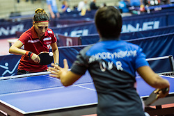 MARSZAL Katarzyna of Poland during SPINT 2018 Table Tennis world championship for the Disabled, Day Two, on October 18th, 2018, in Dvorana Zlatorog, Celje, Slovenia. . Photo by Grega Valancic / Sportida