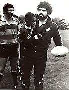 Bill Bushy, New Zealand All Blacks tour of South Africa, 1976. Photo: PHOTOSPORT/Peter Bush