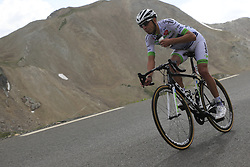 Romain Hardy (FRA) Fortuneo-Oscaro descends the Col du Galibier during Stage 4 of the 104th edition of the Tour de France 2017, running 183km from La Mure to Serre Chevalier, France. 19th July 2017.<br /> Picture: Eoin Clarke | Cyclefile<br /> <br /> All photos usage must carry mandatory copyright credit (&copy; Cyclefile | Eoin Clarke)