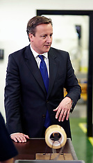 OCT 18 2013 Prime Minister David Cameron opens a £5million extension and up