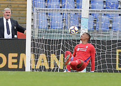 October 7, 2018 - Rome, Italy - Alban Lafont during the Italian Serie A football match between S.S. Lazio and Fiorentina at the Olympic Stadium in Rome, on october 07, 2018. (Credit Image: © Silvia Lore/NurPhoto/ZUMA Press)