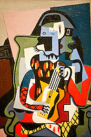 National Gallery, Washington DC. Painting by Picasso